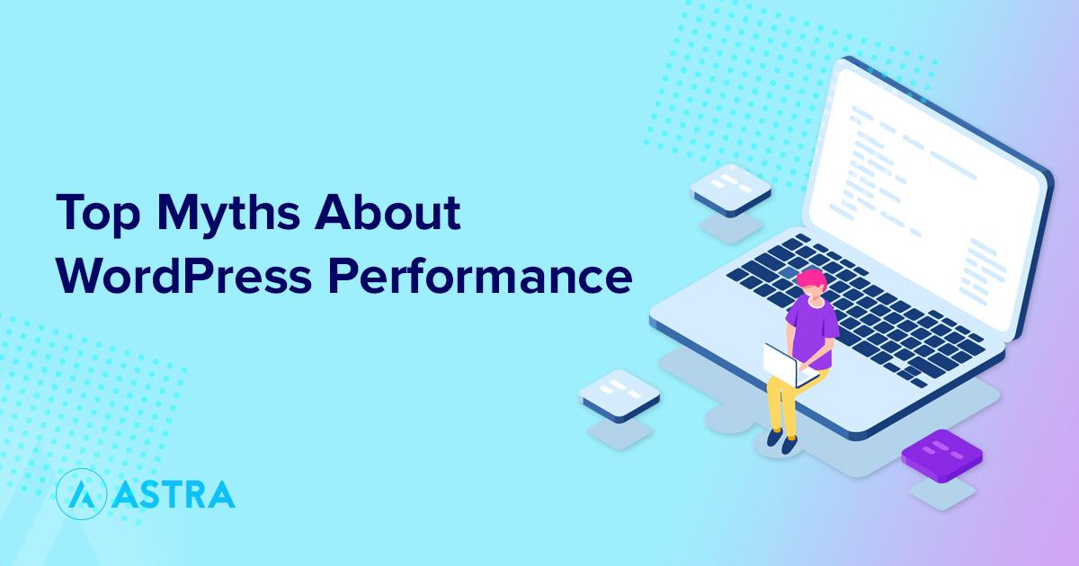 WordPress performance myths banner