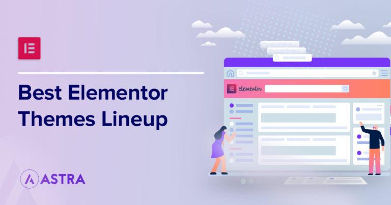 best elementor themes banner