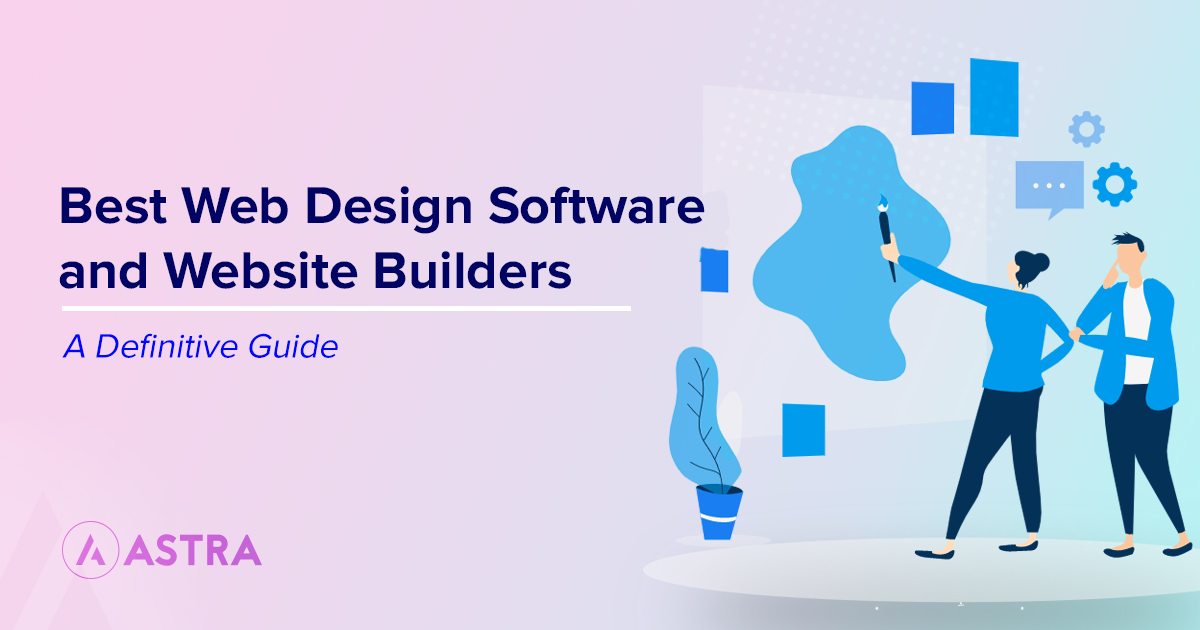 20 Best Web Design Software 2020 A Definitive List Of Website Builders