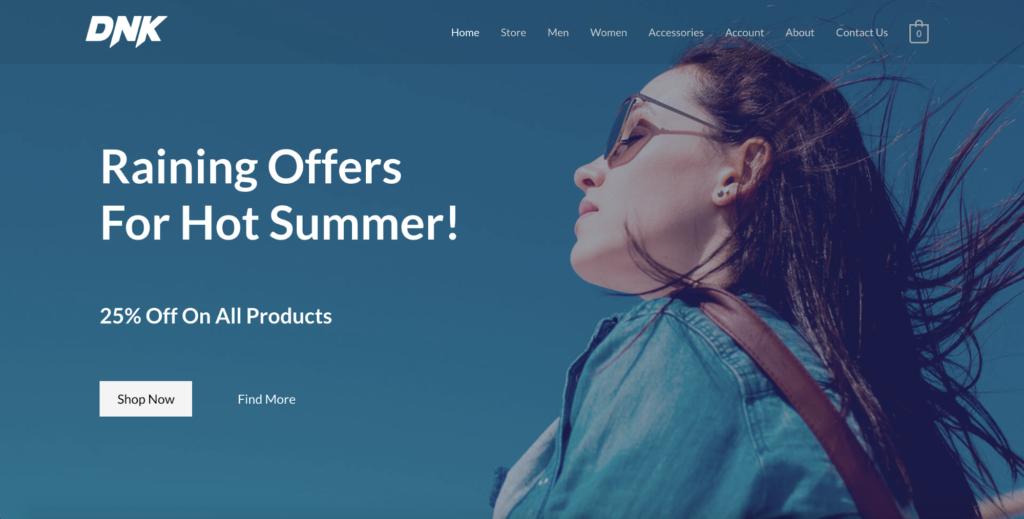 brandstore astra starter site