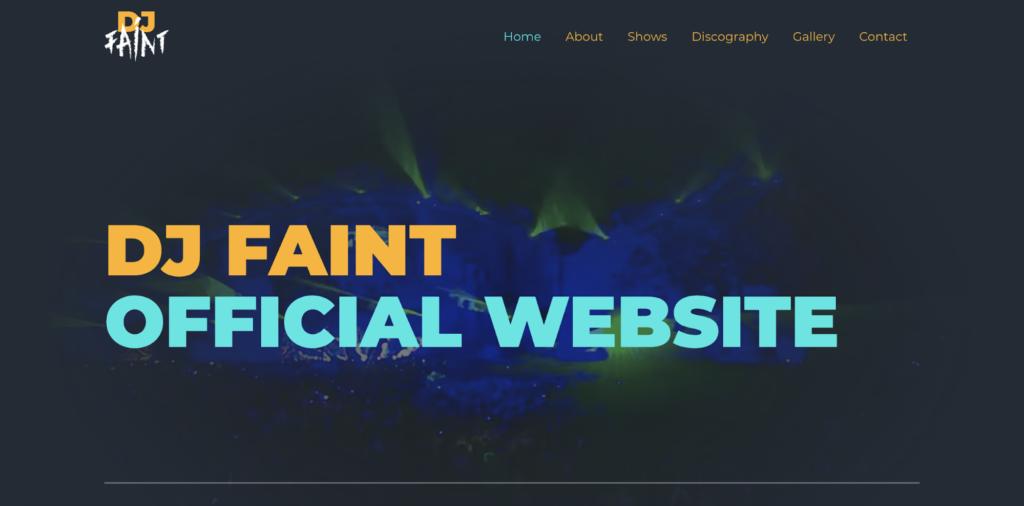 disc jockey astra starter site
