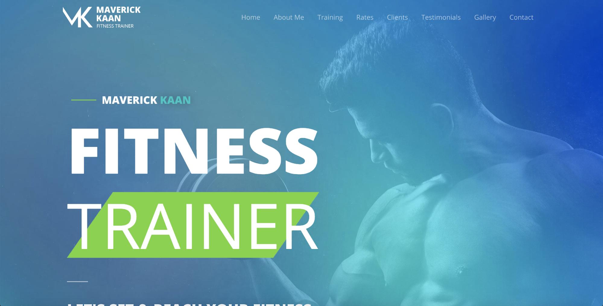 fitness trainer starter templates