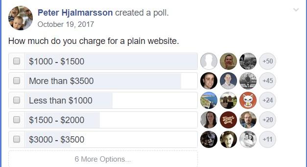 freelance developer site build poll 3