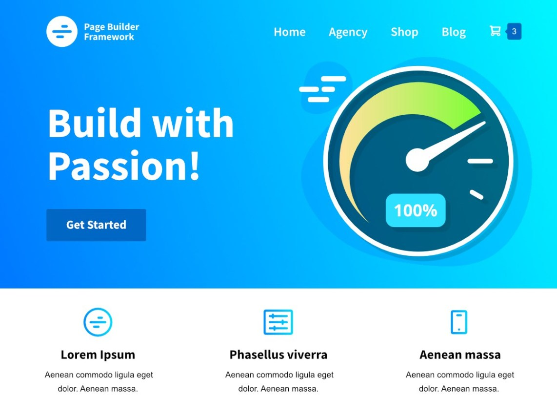 Page Builder Framework homepage
