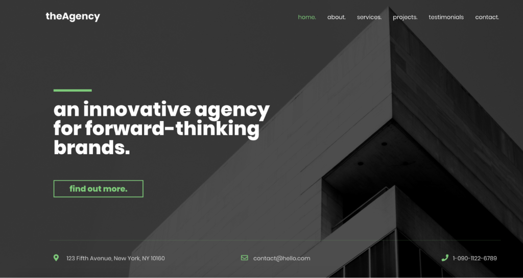 theagency astra starter site
