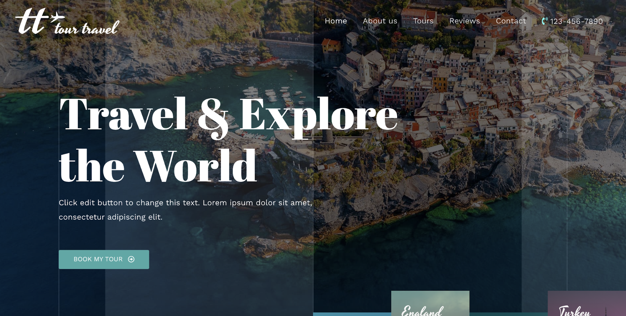 travel agency astra starter site