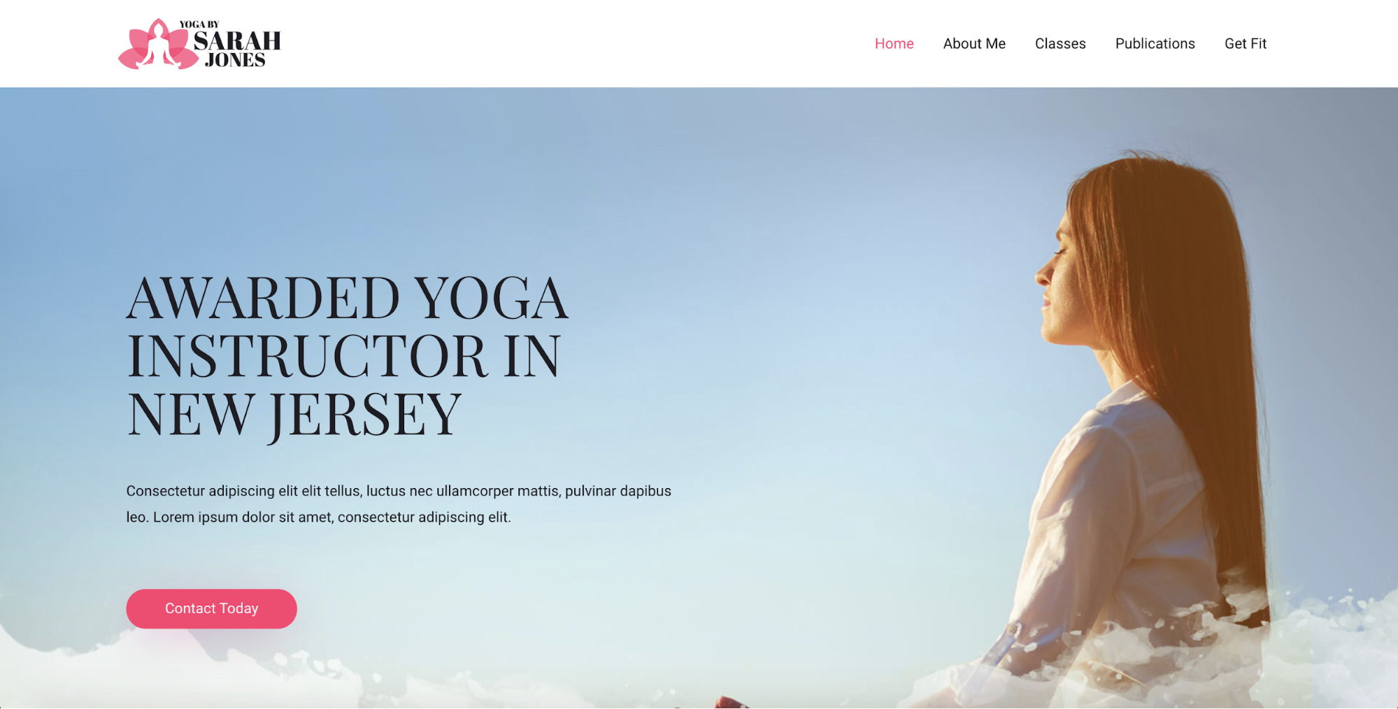 yoga instructor astra starter site