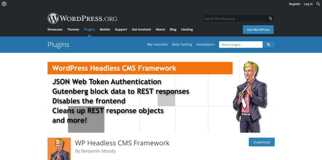 Headless Framework Plugin