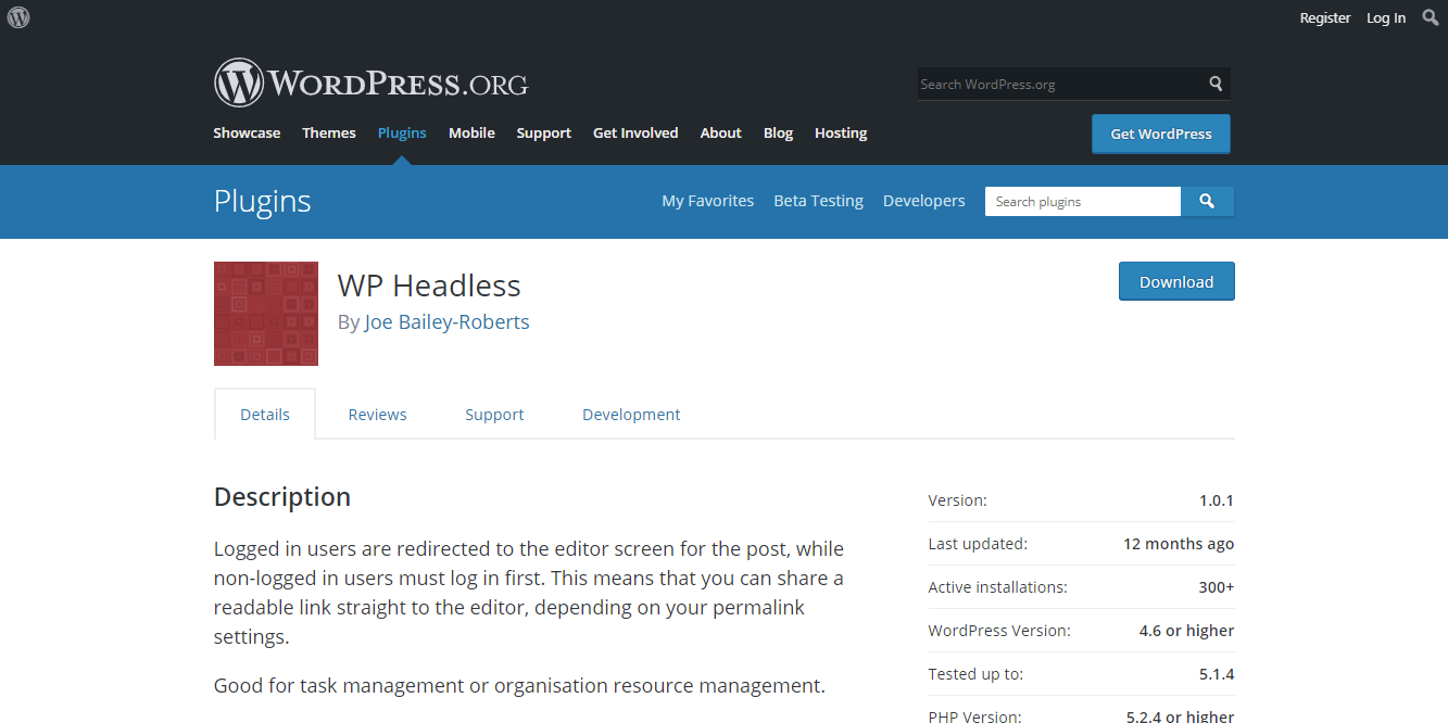 WP Headless
