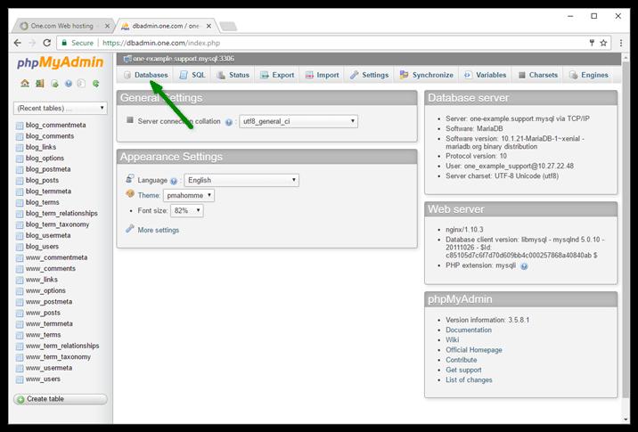 Optimize Database Table