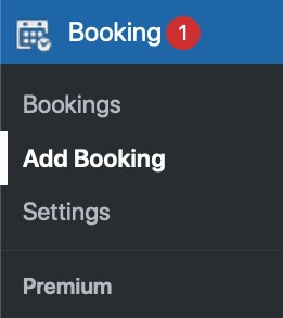 Add booking manually