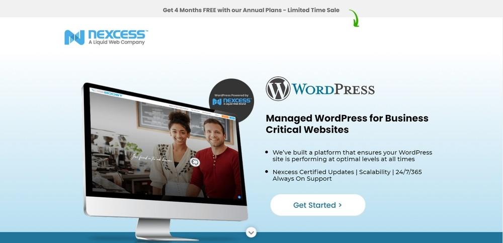 Nexcess managed WordPress hosting