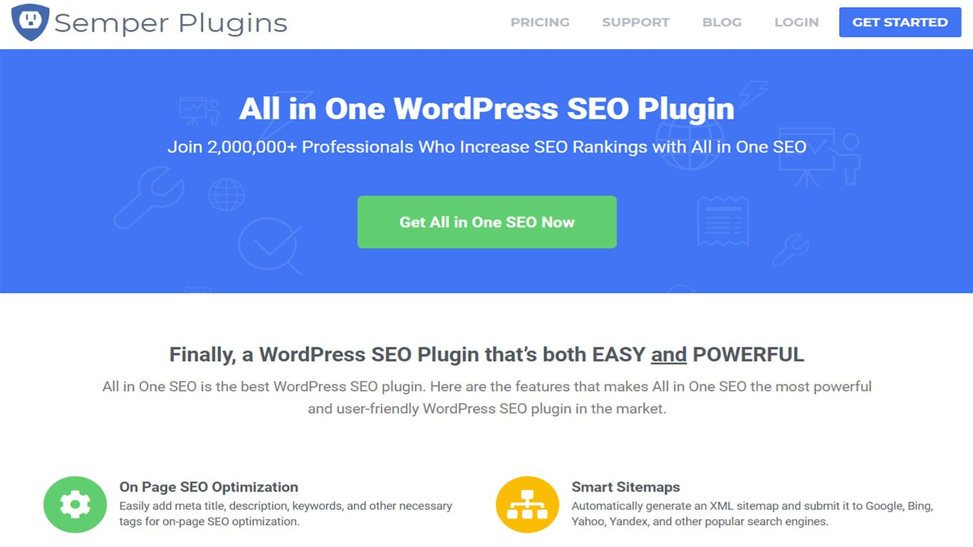 All in One plugin image