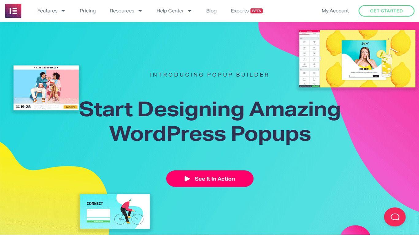Elementor Pro plugin Site