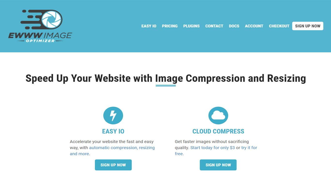 Ewww image optimization plugin
