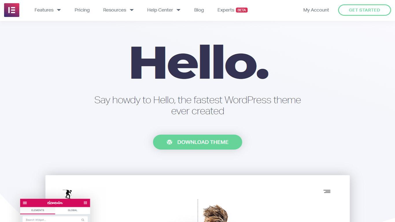 Hello theme site image