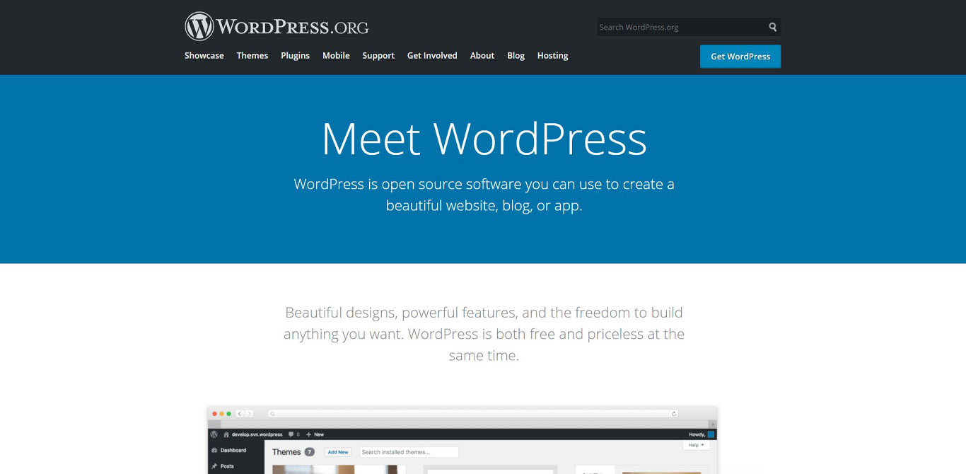 Meet wordpress image