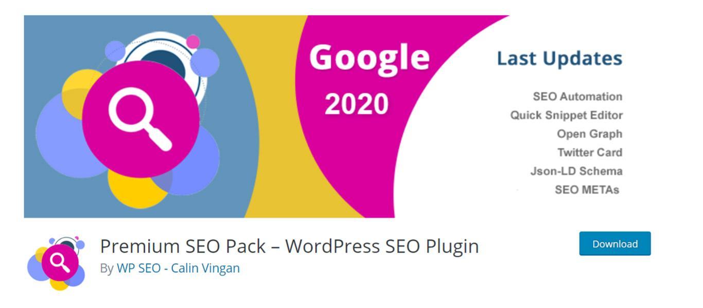 Premium SEO pack plugin image