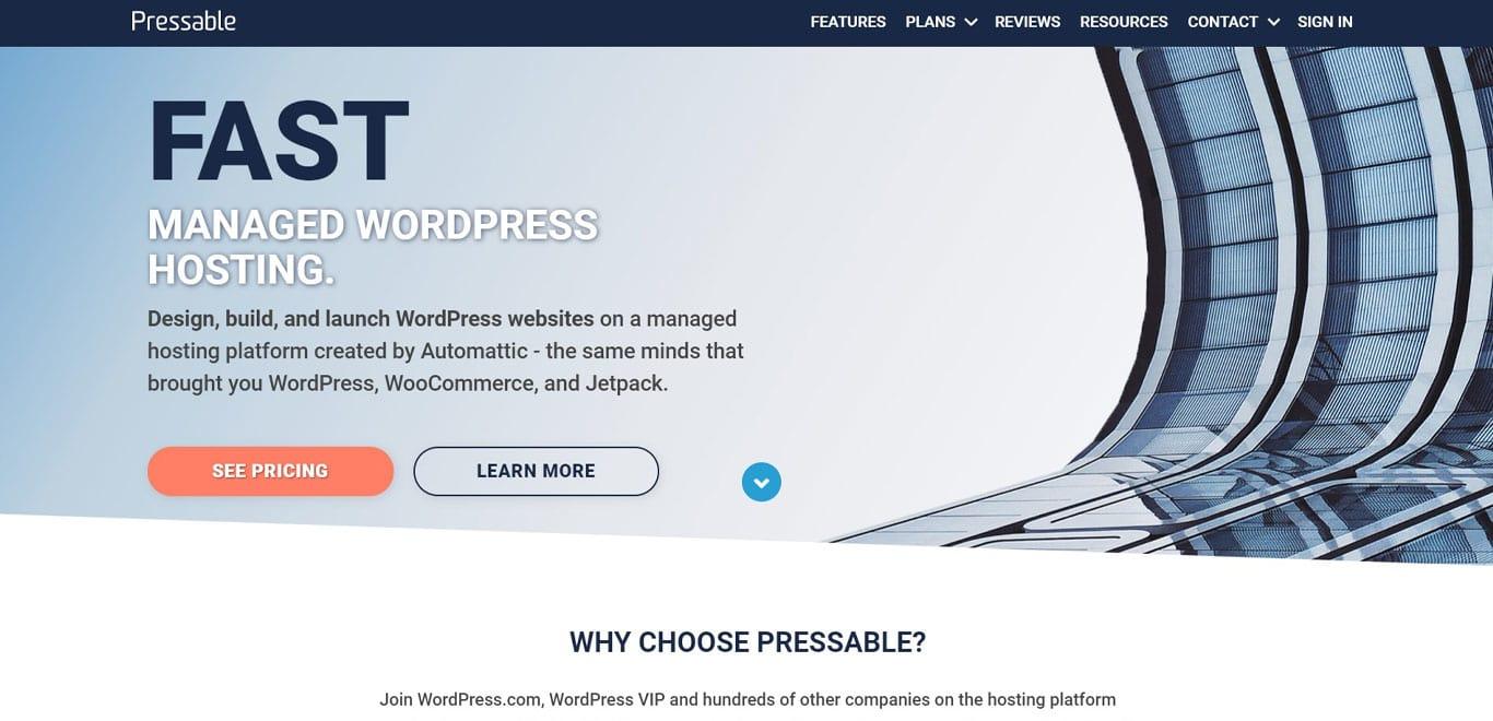 Pressable site image