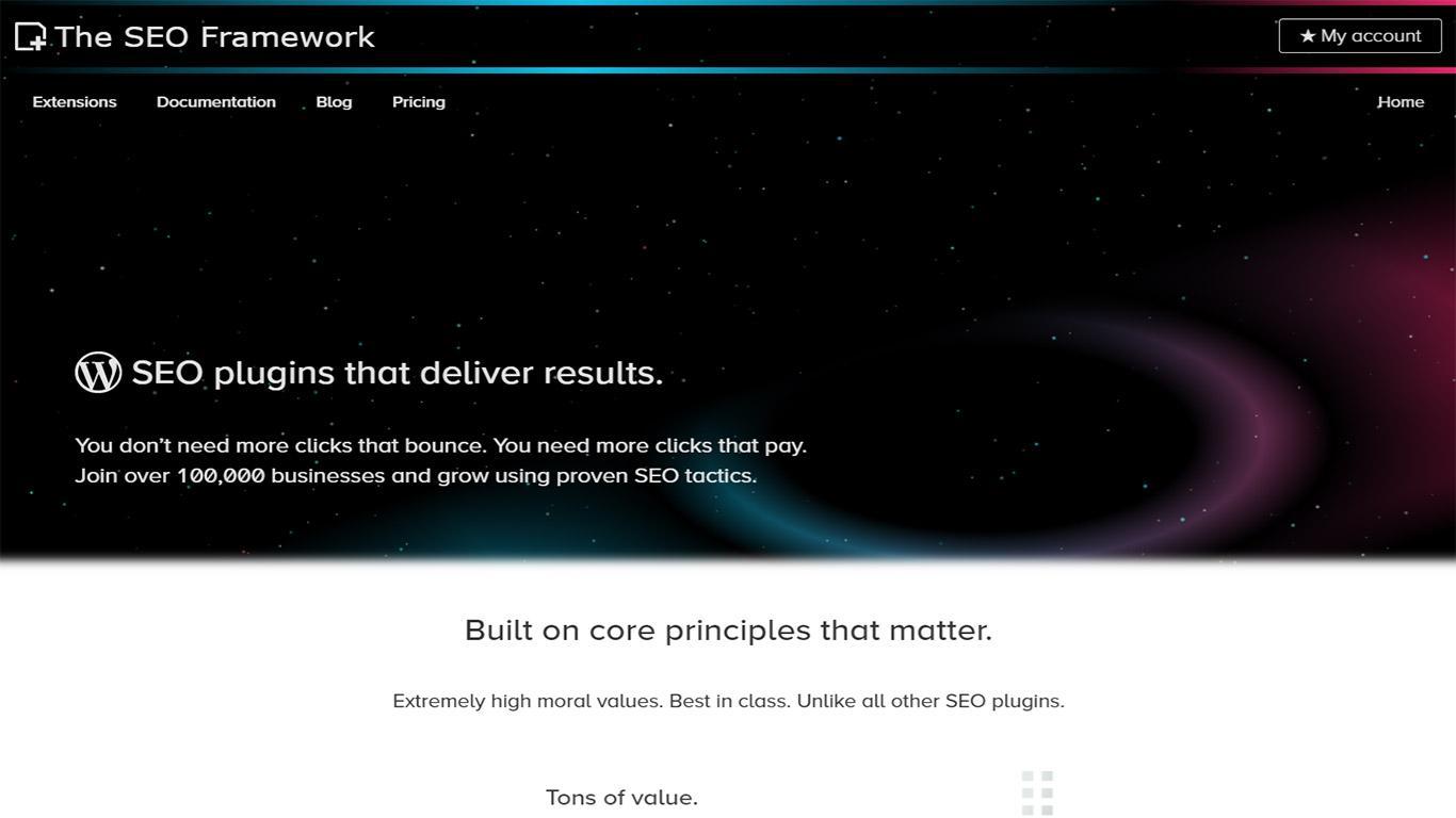 SEO framework image