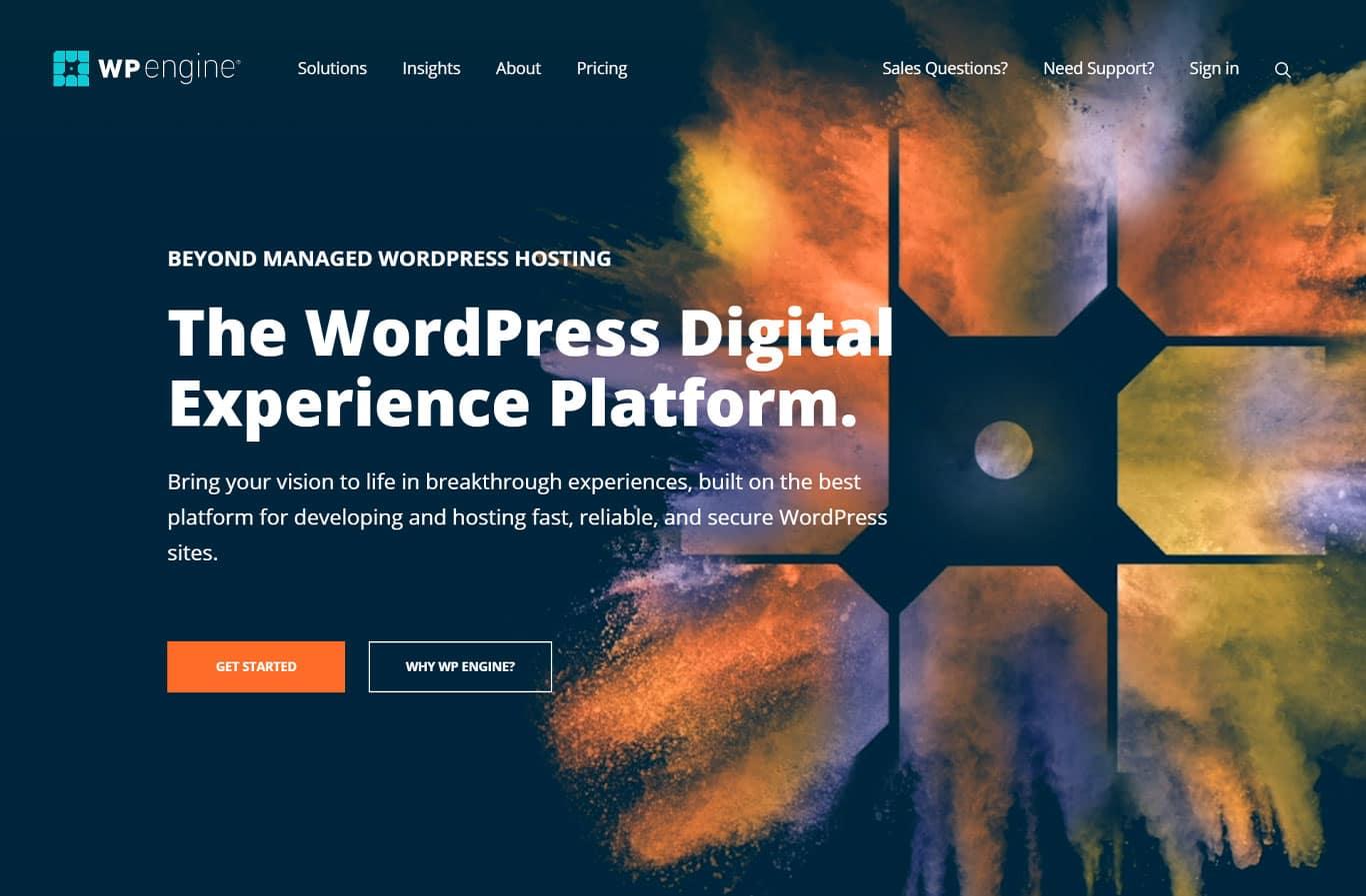WPEngine site image