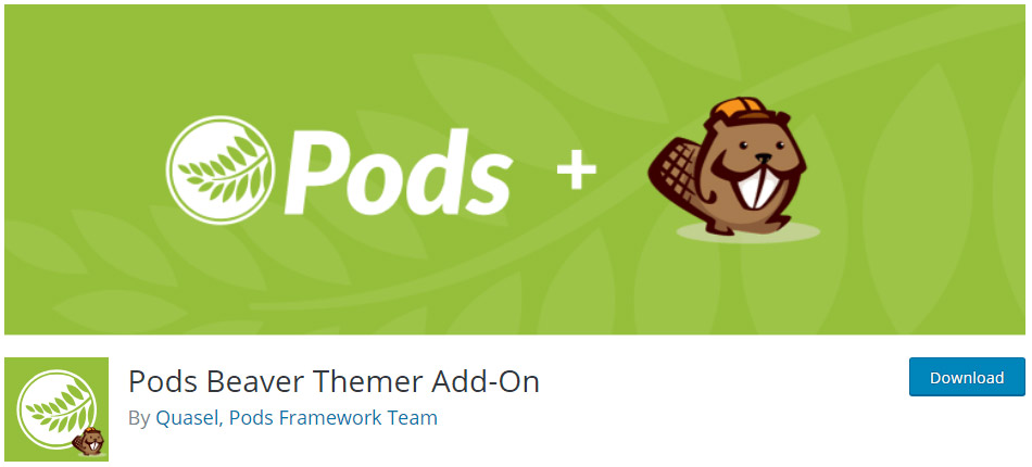 Pods Beaver Themer Add-On image