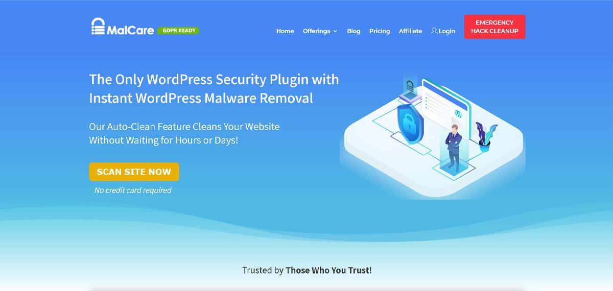 Malcare plugin site image