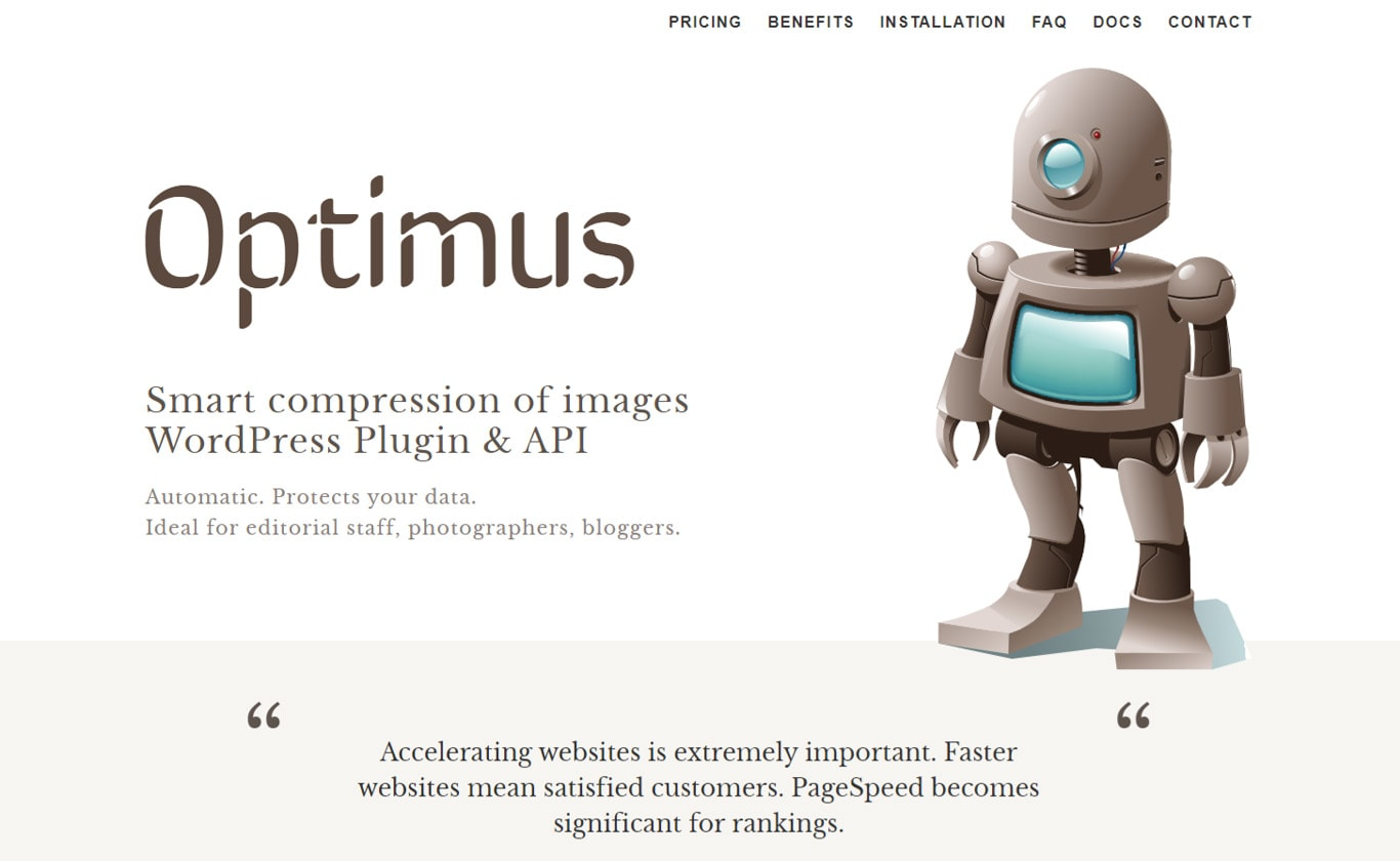 Optimus plugin image