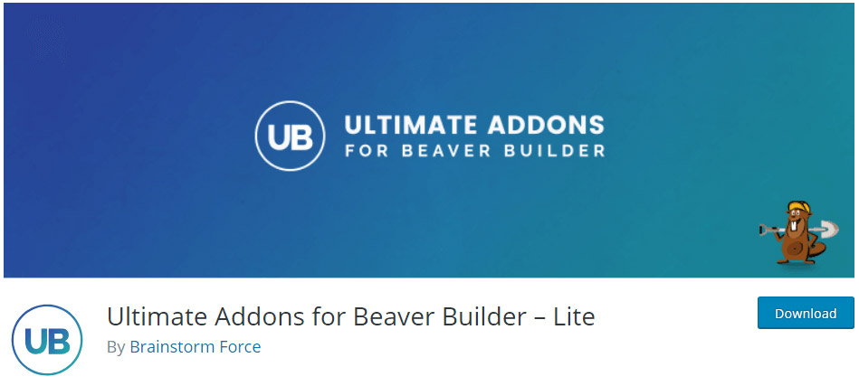 Ultimate Addons for Beaver Builder lite image