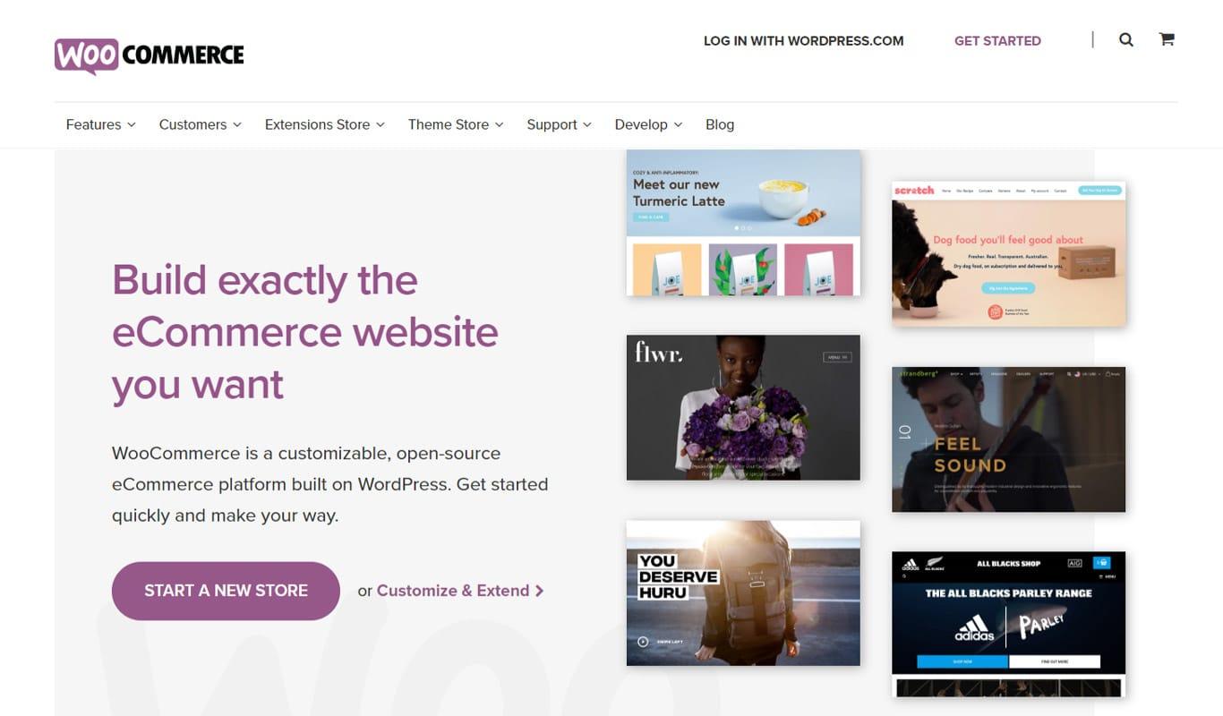 WooCommerce homepage image