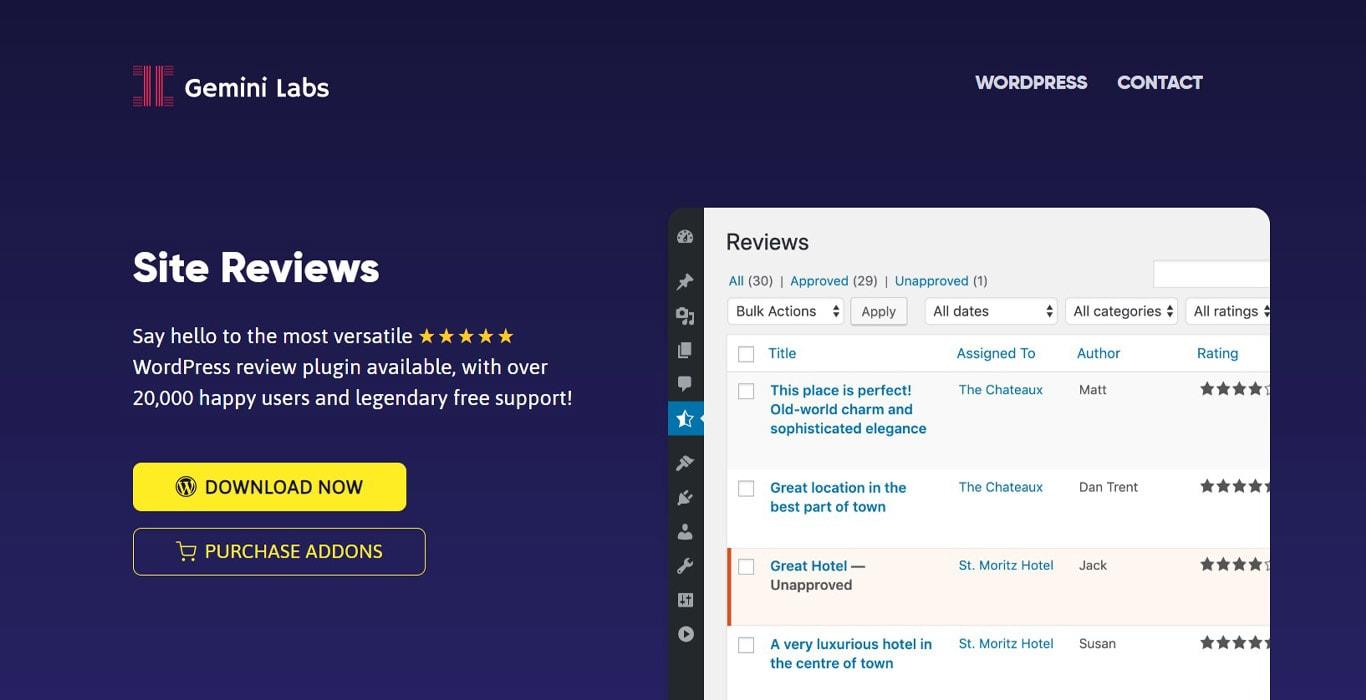Site reviews image