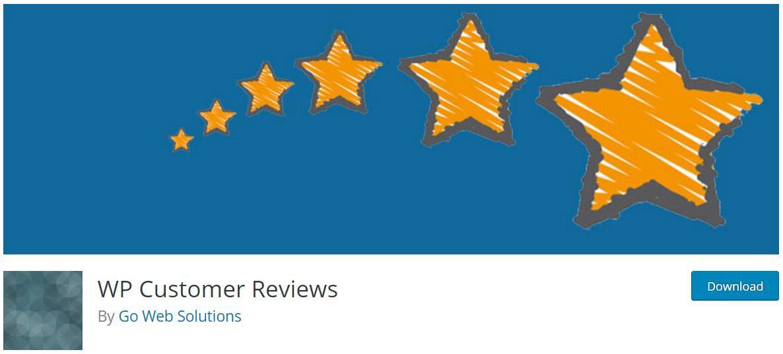 WP Customer reviews image