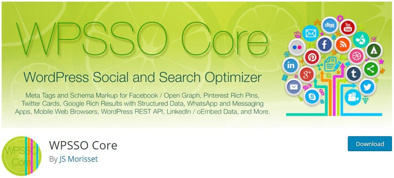 WPSSO Core image