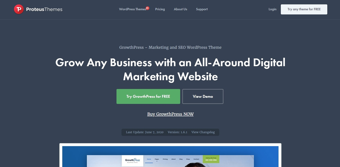 GrowthPress site image