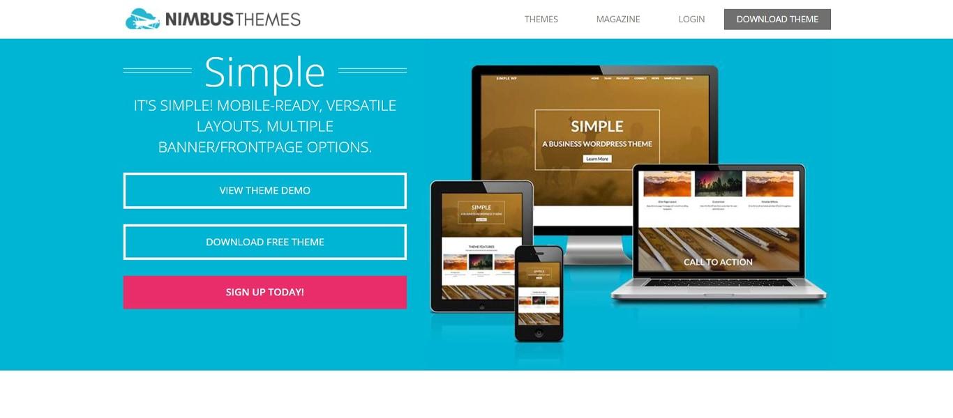 Simple site image