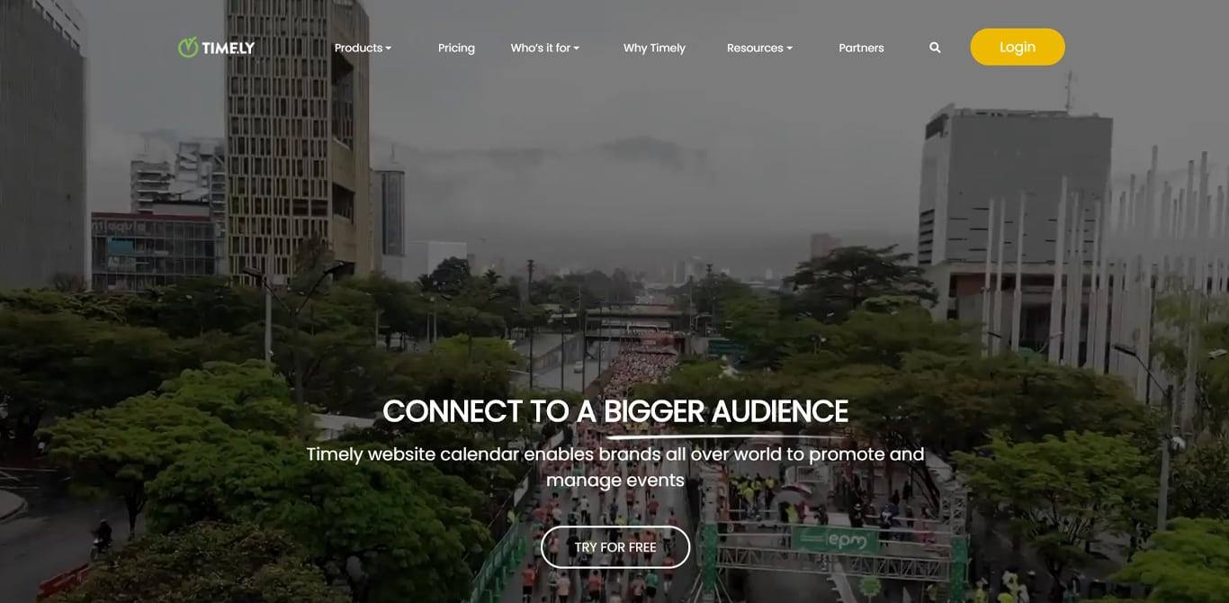 Image of timely manager site