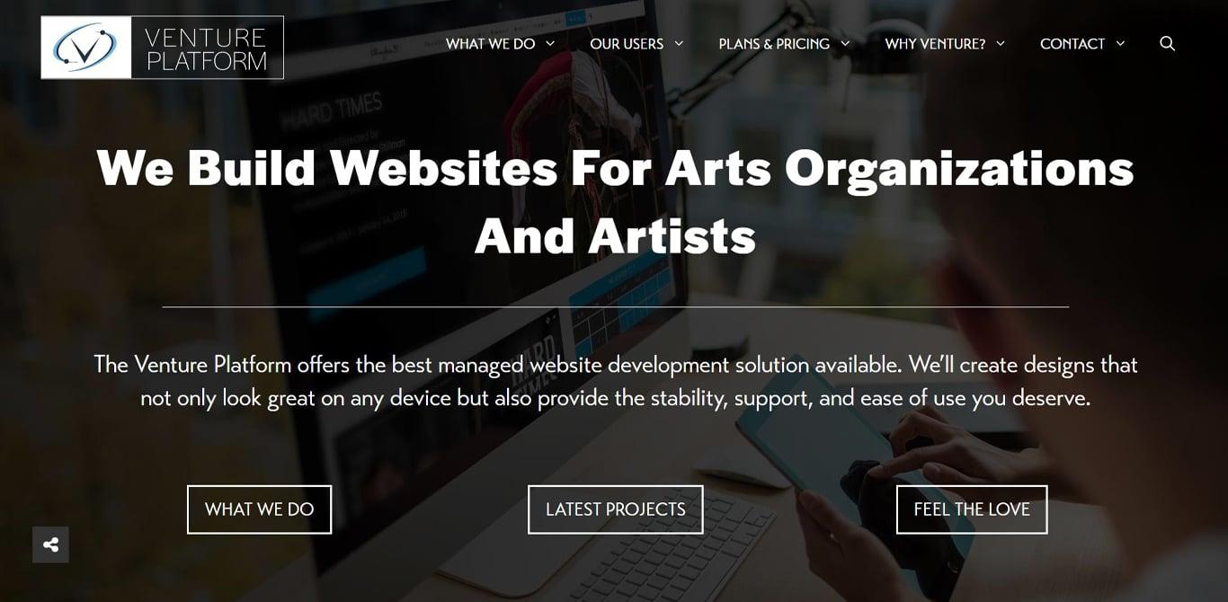 Image of venture site