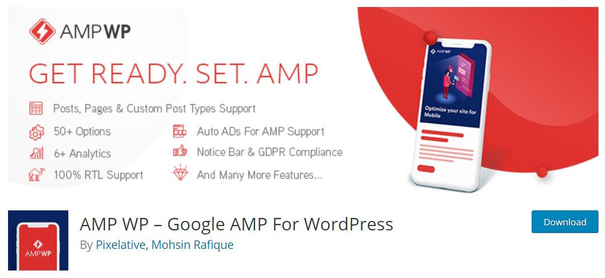 AMP WP site image