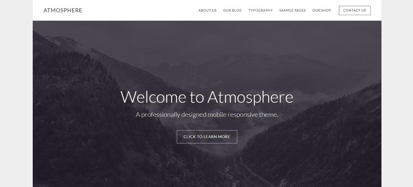 Studiopress Atmosphere multipurpose theme
