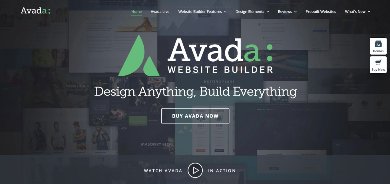Avada all purpose wordpress theme