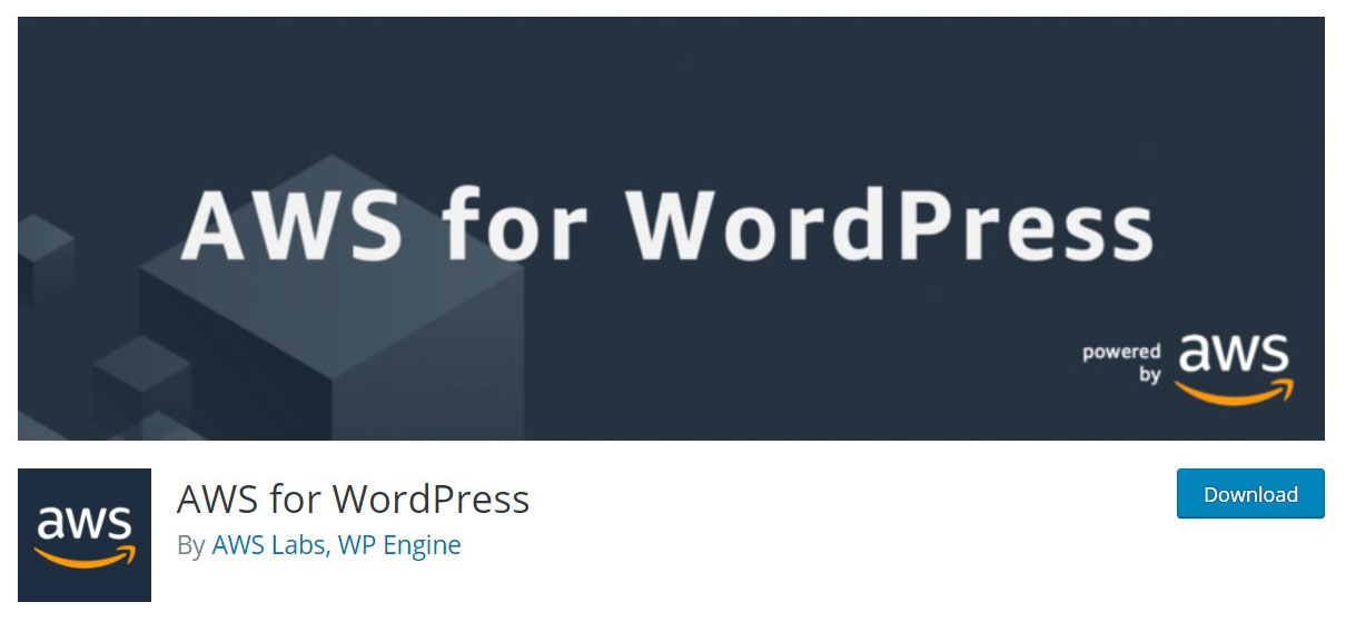 AWS for wordpress image