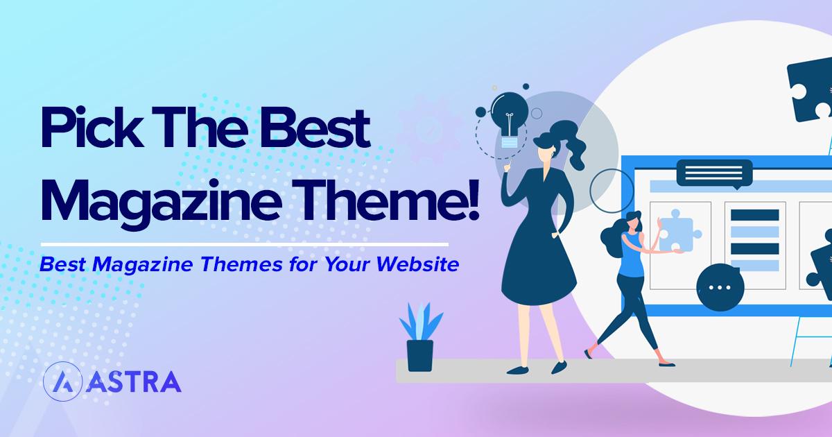 Magazine theme featured image