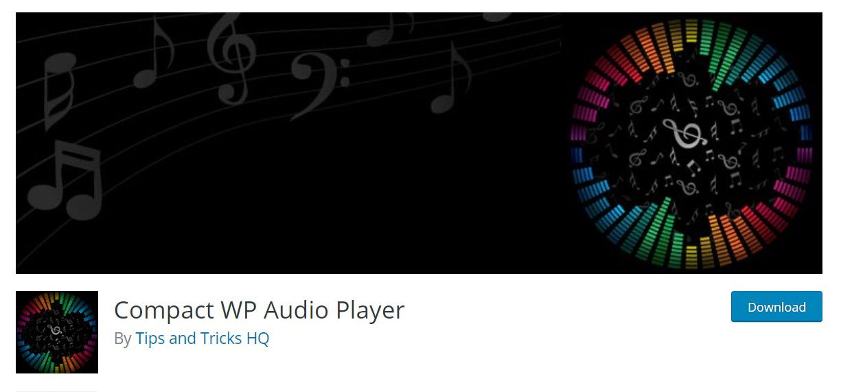 Compact wp audio image