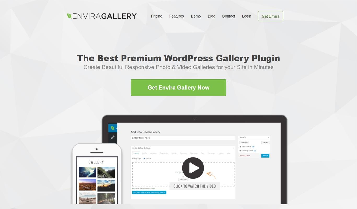 Envira plugin site image