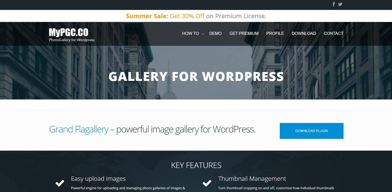 Flagallery plugin site image