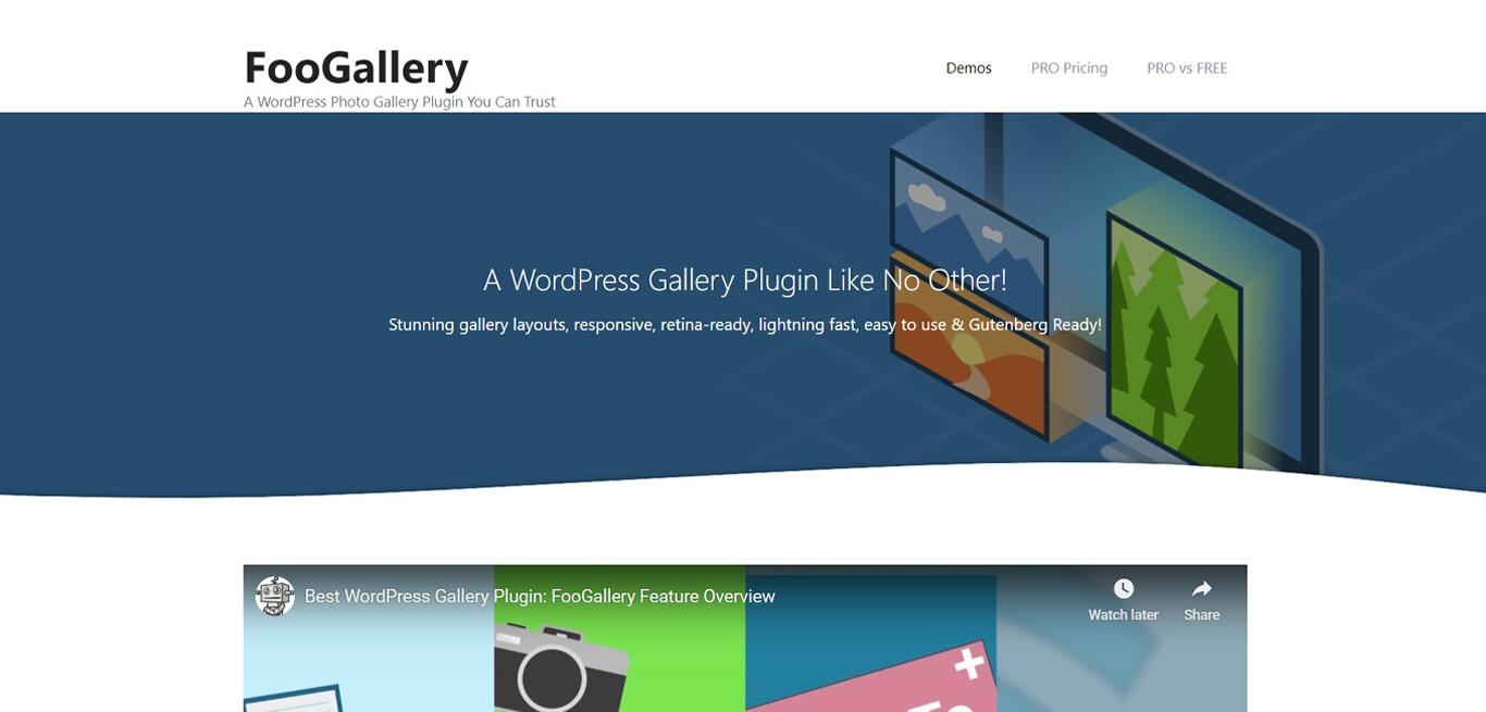 Foogallery plugin site image