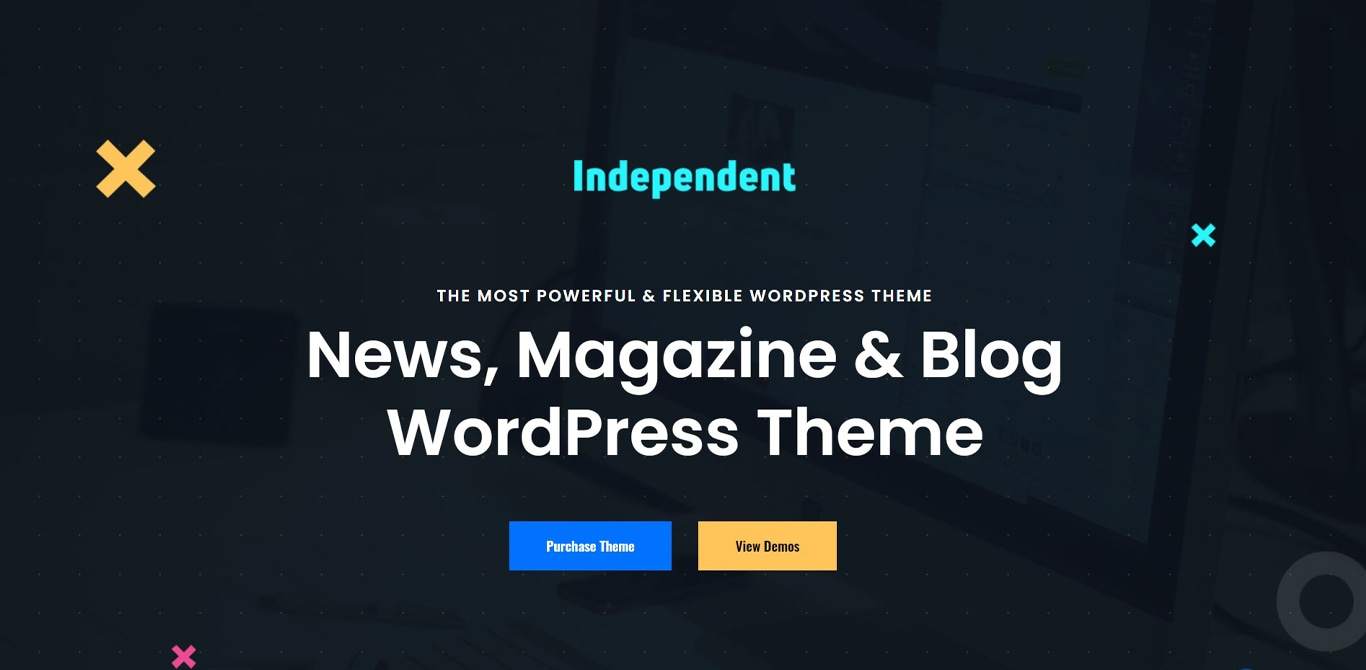 Independent theme site image