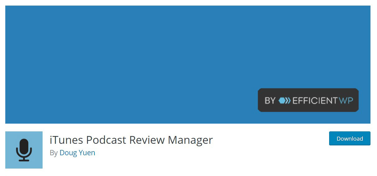 iTunes podcast plugin image