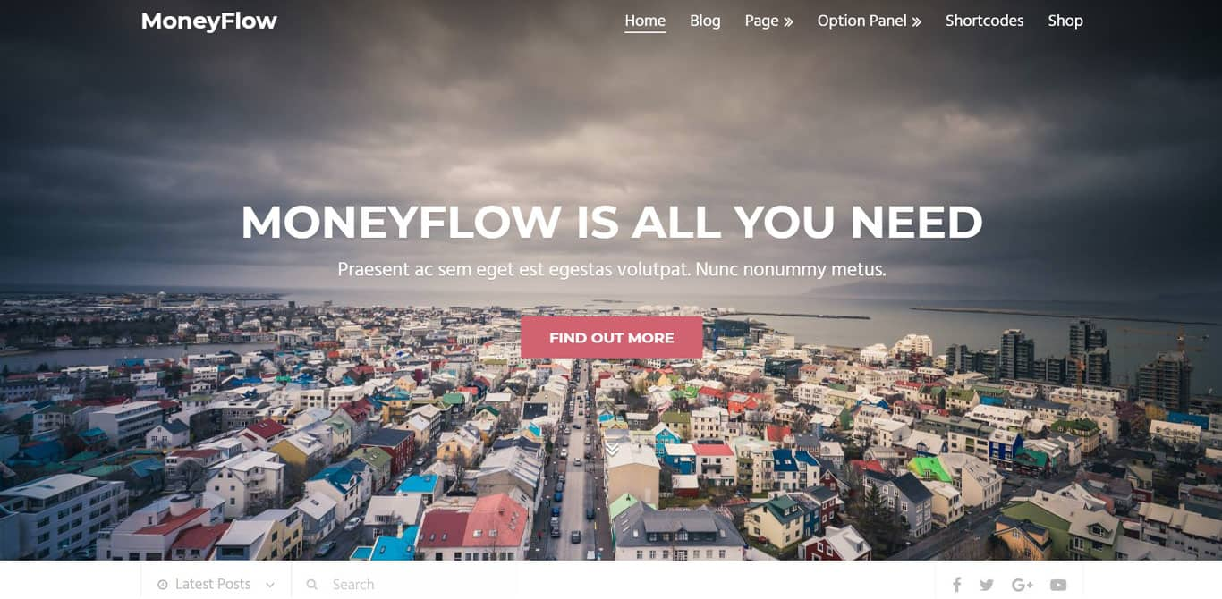Moneyflow affiliate theme