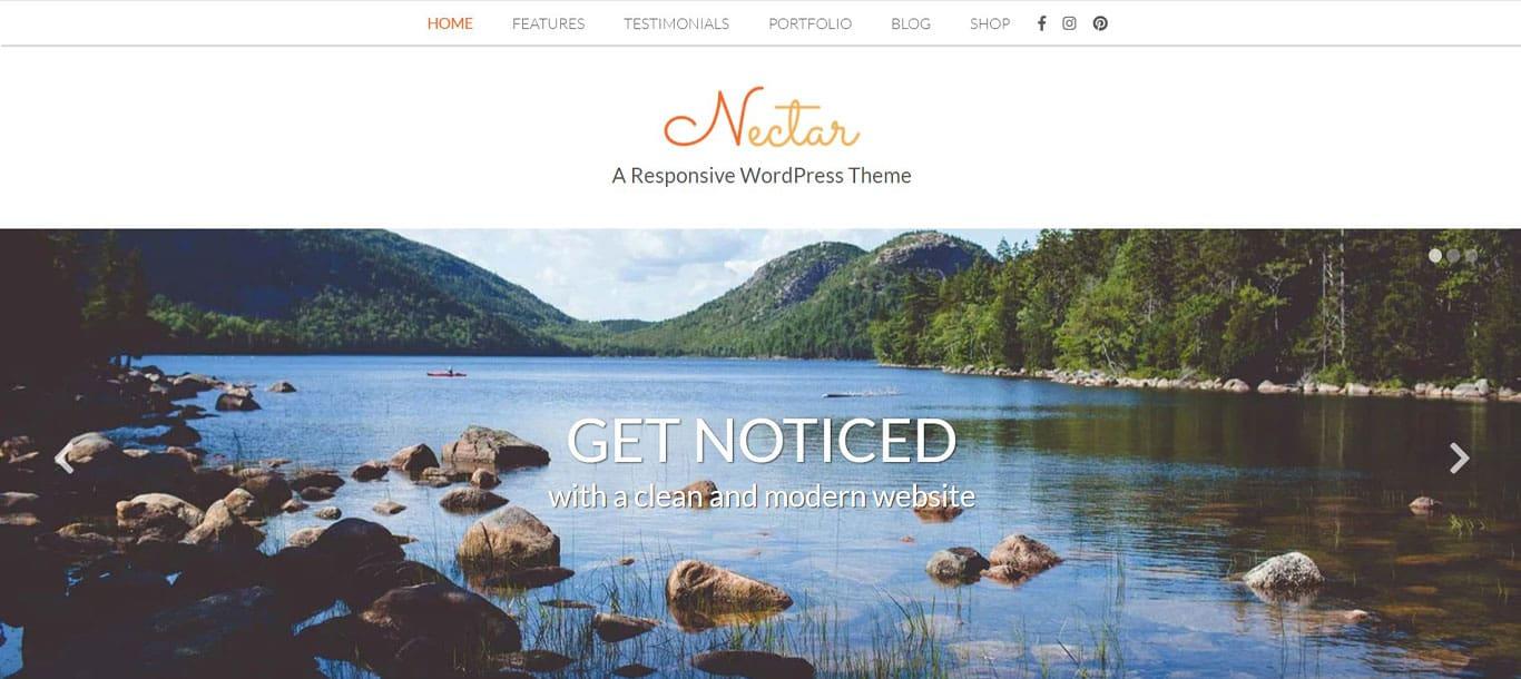 Nectar theme demo
